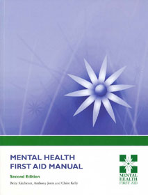 Mental Health First Aid Manual Cover